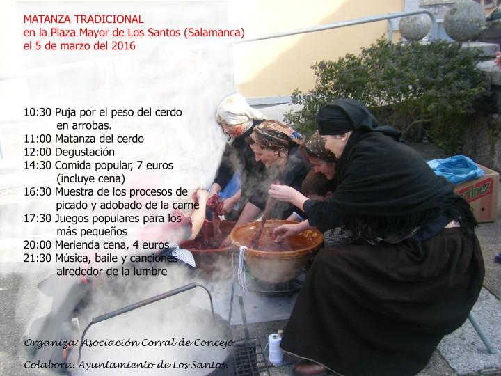 Matanza Tradicional 2016