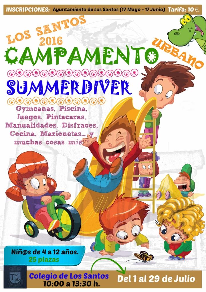 Campamento Verano 2016 - Cartel 1